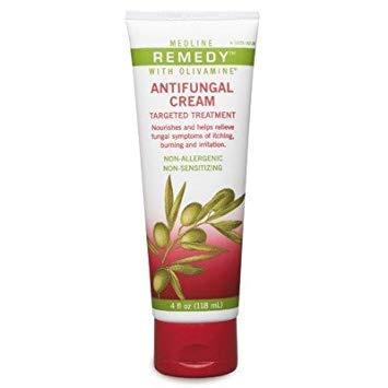 (Medline MSC094604H 4 Ounce Remedy Antifungal Cream - Pack of 3 MSC094604H)