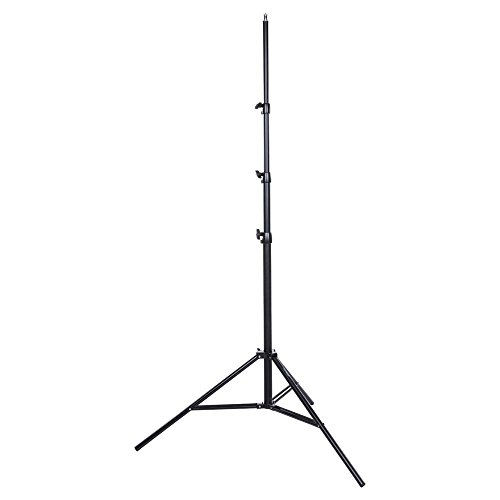 Interfit LS202 Studio Essentials Professional - 10' Premium Air-Cushioned Light Stand, Black by Interfit