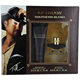 MCGRAW SOUTHERN BLEND by Tim McGraw Gift Set for MEN: EDT SPRAY .5 OZ & HAIR AND BODY WASH 2.5 OZ