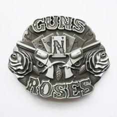 3D Gun N Rose Belt Buckle (Guns N Roses Belt Buckle)