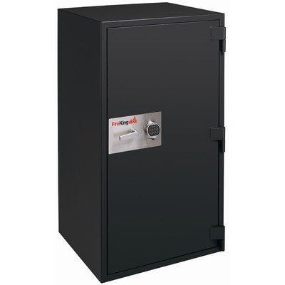 Fire-and-Burglary-Safe-Color-Graphite-Lock-Type-Combination-Size-38-CuFt-1-Shelf-215W