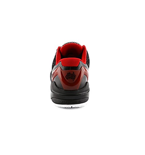 41 Rouge Noir homme noir Peak chaussures delly2 0PnSZ