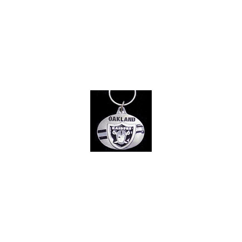 NFL Design Key Ring   Oakland Raiders