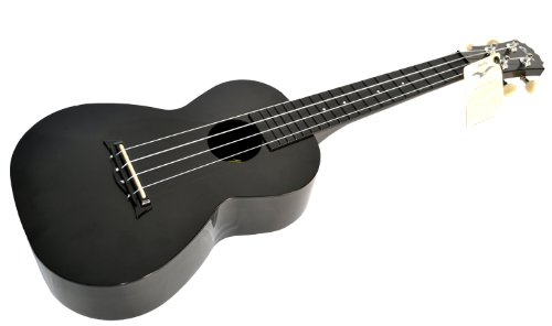 CONCERT UKULELE in BLACK ABS by CLEARWATER - SPECIAL OFFER