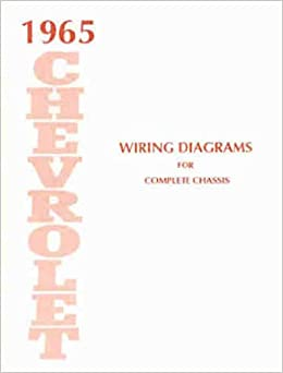 1965 chevrolet cars complete set of factory electrical wiring diagrams &  schematics guide - includes: biscayne, bel air, impala, and full size  station