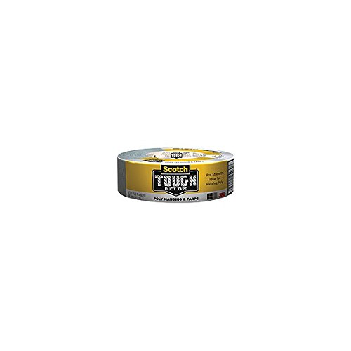 3M Poly & Tarps 2360-C Duct Tape 1.88 Inches by 60 Yards, (Case of 9)
