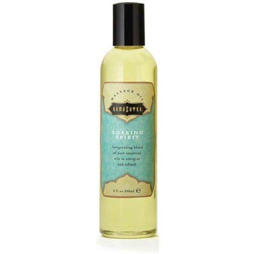 Kama Sutra Aromatic Massage Oil, Scent - Soaring Spirit(8 fl. oz) - Kama Sutra Massage Oil