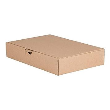 200 MAXI CAJA DE ENVÍO 240 x 160 x 45mm DIN A5, embalaje ENVÍO Caja de cartón ondulado cartón Caja de cartón de Carta: Amazon.es: Oficina y papelería