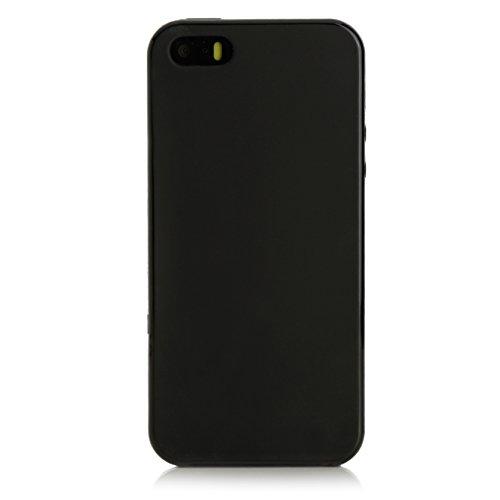 ArktisPRO iPhone se TPU Case Noir mat
