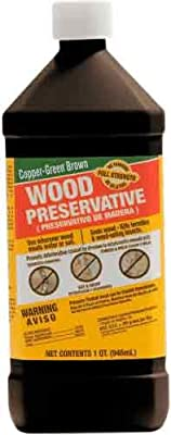 Green's Copper Brown Wood Preservative Spray 33008, 14-Ounce Aerosol