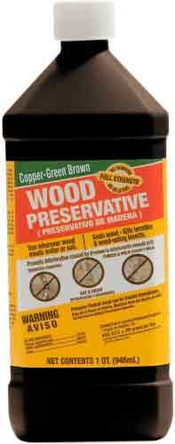 green-products-33004-copper-brown-wood-preservative-for-surface-protection-1-quart