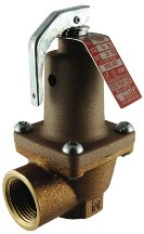 """Hot Water Pressure Relief Valve 174A - #174A 1-1/2"""" 30Lb. Relief Valve - Watts 276500 by Watts"""