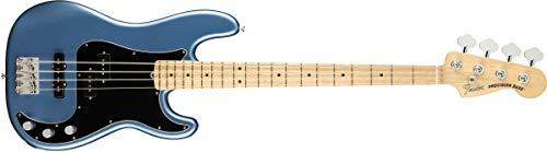 Fender American Performer Precision Bass - Satin Lake Placid Blue w/Maple Fingerboard ()