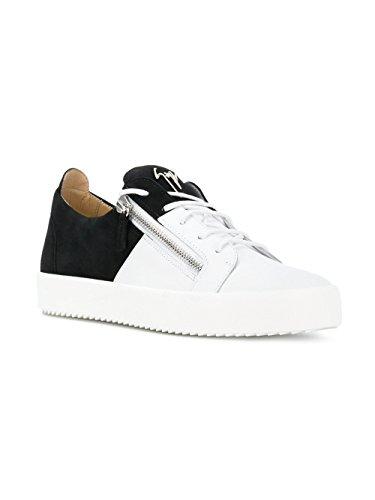 Giuseppe Zanotti Zapatillas Para Hombre Blanco/Negro It - Marke Größe