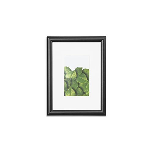 "Vista Kayan 5""x 7"" Picture Frame, Thin Profile in BLACK, Wid"