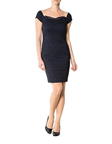 Blau 40 Mikrofaser Dress Größe Farbe Damen Gemustert Jo Kleid Liu qwUfHzn