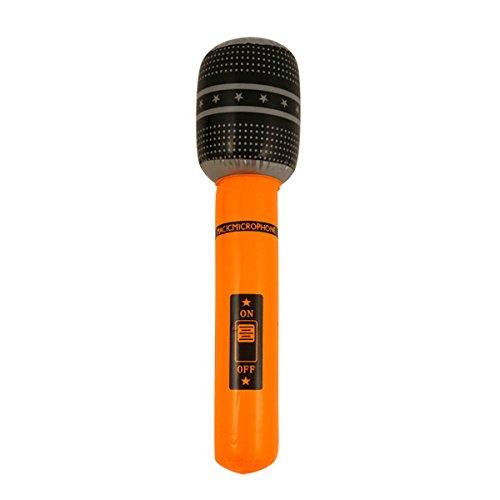 Henbrandt - Micrófono hinchable para decoración de fiesta de ...