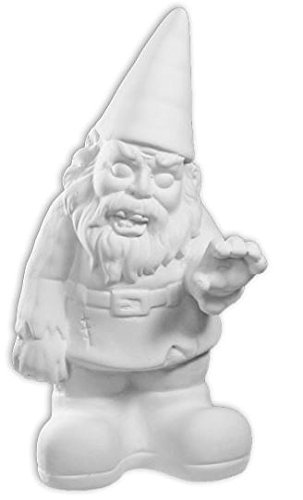 Zombie Gnome - Paint Your Own Super Spooky Ceramic -