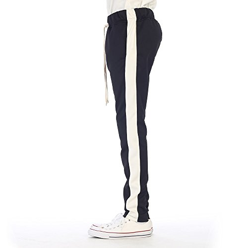 EPTM New Men\'s Techno Poly Zipper Long Drawstrings Pants supplier DcaBrbuE