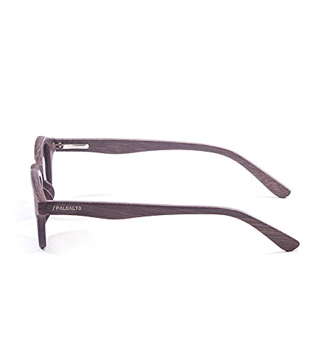 Paloalto Sunglasses Laguna Beach Lunettes de Soleil Mixte Adulte, Wood Brown