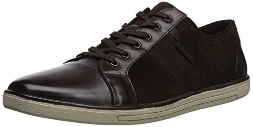 Kenneth Cole New York Men's Initial Step Sneaker, Dark Brown, 10 M US (Keep New York Cole Kenneth)