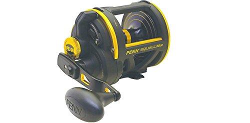 Penn 1206096 Squall SQL60LD Lever Drag Conventional Fishing Reel, SQL60LD - 50lbs/370yd