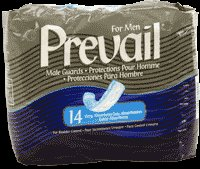 Prevail Male Guards - - Pack of 14
