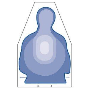 DIE CUT TRANSTAR CARDBOARD TARGET 100 PACK by Law Enforcement Targets