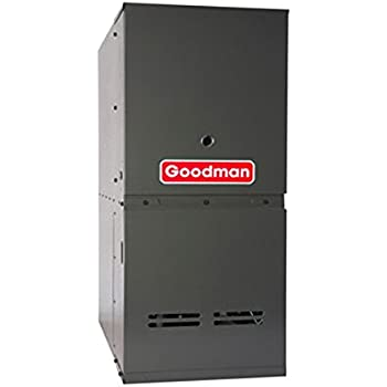 Goodman GDS80603AN Gas Furnace, Single-Stage Burner/Multi-Speed Blower, Downflow 80% AFUE - 60,000 BTU