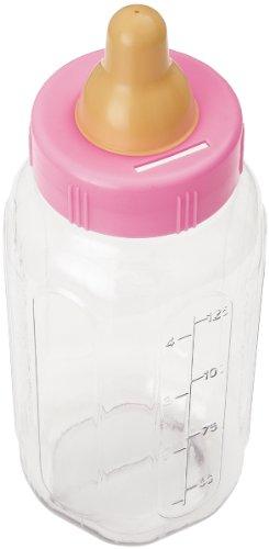 Unique Industries 13583 Party Favor Bottle Bank, 11-Inch, Pink