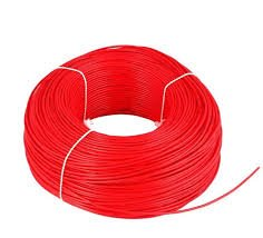 Polycab 1sqmm PVC Wire (Red)