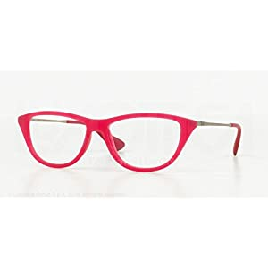 Ray Ban RX7042 5471 Fushia Pink Silver Frame 54 mm Optical Lens Eyeglasses New