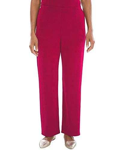 Chico's Women's Travelers Classic No Tummy Pants Size 12 L (2 REG) - Leg Pants Travelers Wide