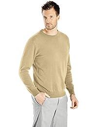 Cashmere Boutique: Men's 100% Pure Cashmere Crew Neck Sweater (4 Colors, Sizes: S/M/L/XL)
