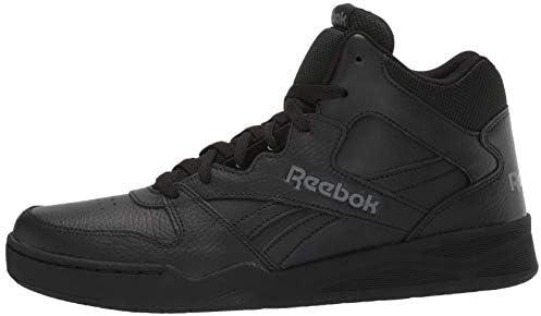 Reebok Men's BB4500 Hi 2 Sneaker, Black/Alloy, 10 Wide