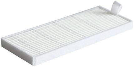 TOOGOO Filtro Hepa Filtro para Cecotec Conga 1290 Cecotec Conga 1390 Aspirador Rob/óTico Piezas Accesorios Reemplazo