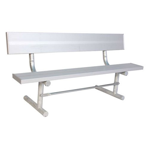 (ultraPLAY 6'Park Bench with Back,)