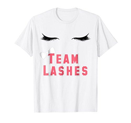 - Team Lashes Stashes shirt for Girl Boy Gender Reveal Couples