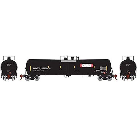 Athearn ATH98460 HO RTR 30,000-Gallon Ethanol Tank, MWTX #112620 - Athearn Ho Brake