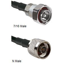 Times Microwave LMR-600 Ultra Flexible Coaxial Cable Assembly, N-Male To 7/16 Din Male Connectors, 150 Feet Long by TIMES MICROWAVE LMR-600 ULTRAFLEXIBLE CABLE