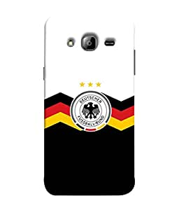 ColorKing Football Germany 27 Multi Color shell case cover for Samsung On7