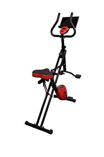 j/fit 2-in-1 Low-Impact Exercise Core Rider & Stationary Bike j/fit