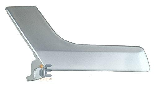 Interior Door Handle Repair Kit (Color: Matte Silver Flat) (Driver Door or Rear Left Passenger) Mercedes-Benz X204 GLK250 GLK300 GLK350 W204 C230 C250 C350 C63 AMG C250 C300 C350