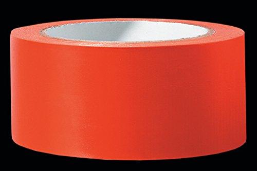 6 x PVC Schutzband PROFI glatt orange 50 mm x 33 m Klebeband Putzerband Putzband für glatte und leicht raue Untergründe