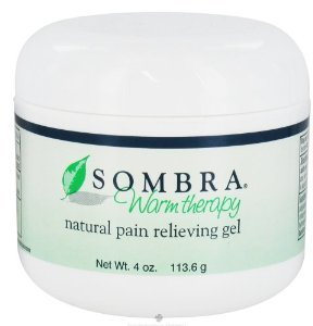 Sombra Warm Therapy Natural Pain Relieving Gel - 4 oz (3 Pack) ()