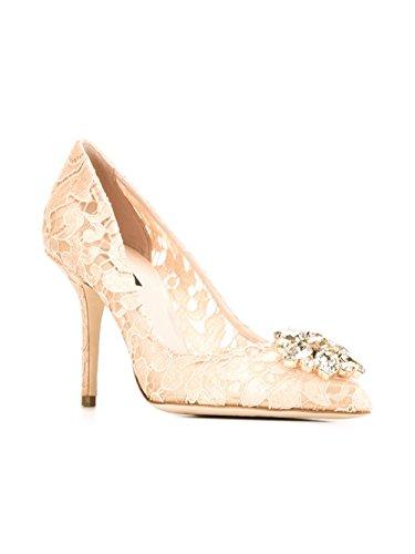 Viscose CD0101AL19880240 E Beige Femme Escarpins Gabbana Dolce RwHqOF7
