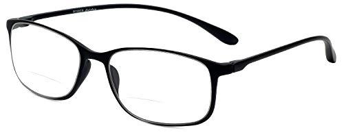Calabria Reading Glasses - 720CB Clear Bi-Focal Flexie in Eb