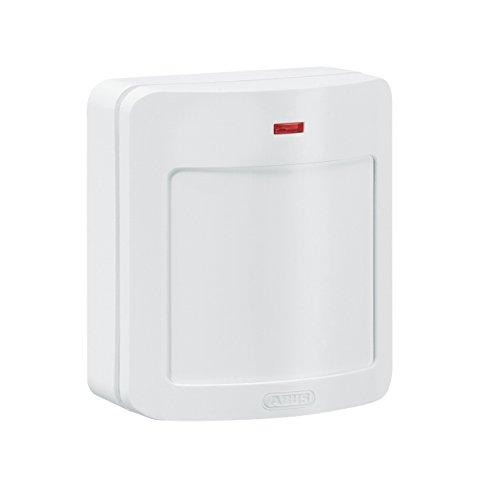 ABUS FUBW50010 Sensor infrarrojo pasivo (PIR) Blanco detector de movimiento - Sensor de movimiento (Sensor infrarrojo pasivo (PIR), Litio, AA, 140 g, -10-55 °C, Blanco)