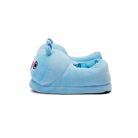 MANG Plush Slippers | BTS X Line Friends - Purple 5