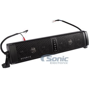 Hifonics Thor TPS6 Universal Weatherproof Six Speaker Powered Sound Bar with Bluetooth